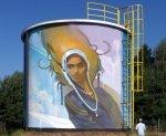 Powstał nowy mural na bazie doskonałej farby kwarcowej JOKER LISCIO firmy GIOLLI !