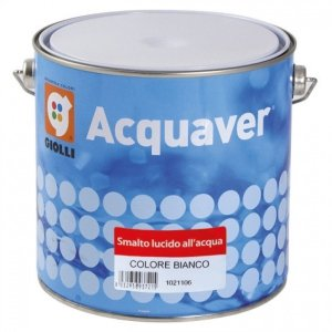 ACQUAVER SMALTO LUCIDO - 0,75L (emalia akrylowa do drewna, PCV i metalu)