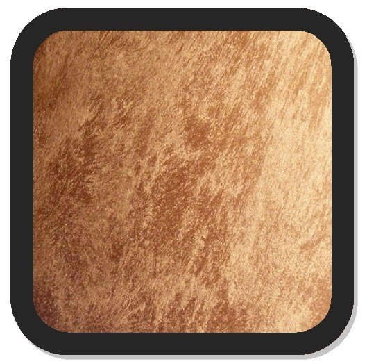 ANTICO RIFLESSO SABBIATO BRONZO - 0,75L  (farba dekoracyjna - efekty: miedzi, złota, brązu itp. - z piaskiem kwarcowym)