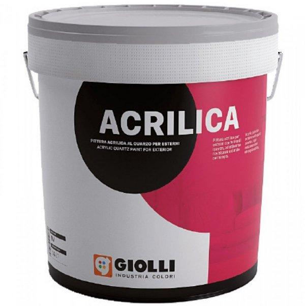 QUARZOFINE ACRILICO - 4L (wysokoodporna, akrylowa farba wewnętrzno/ zewnętrzna z dodatkiem mączki kwarcowej)
