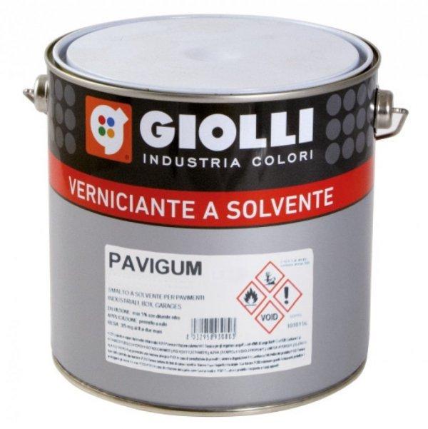 PAVIGUM - 2,5L (hydroizolacyjna, wodoodporna farba na bazie żywic alkidowo-chlorokauczukowych do malowania tarasów, balkonów, podłóg garaży itp.)