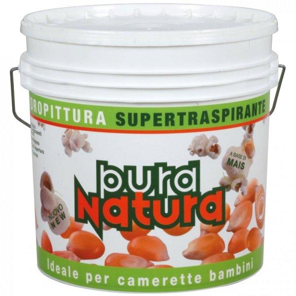 PURA NATURA - 4L (najwyższej jakości, ekologiczna, biała farba do wnętrz oparta wyłącznie na naturalnych składnikach)