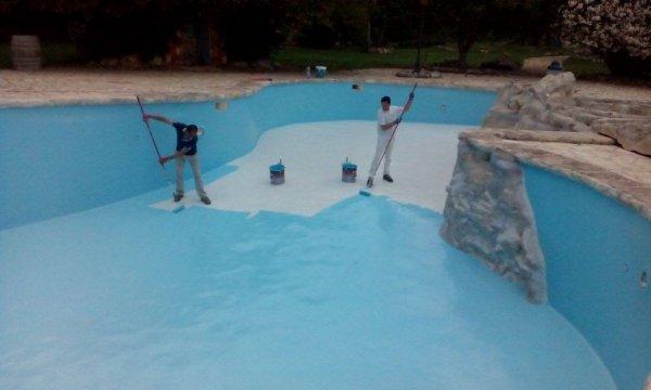 SWIMMING PAINT - 15L (najwyższej jakości, wodoodporna farba na bazie żywic chlorokauczukowych do malowania niecek basenów)