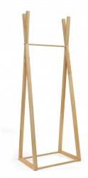 Wieszak drewniany B - 1  Slim