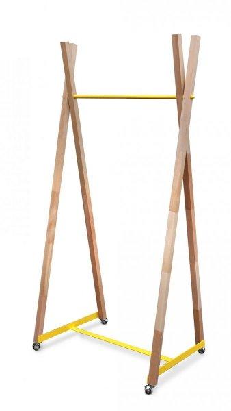 Wieszak  drewniany  '' B - 2 M ''  83 cm
