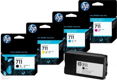 TUSZ ZAMIENNIK HP 711 DESIGNJET T120 MAGENTA [30ml] [XL]