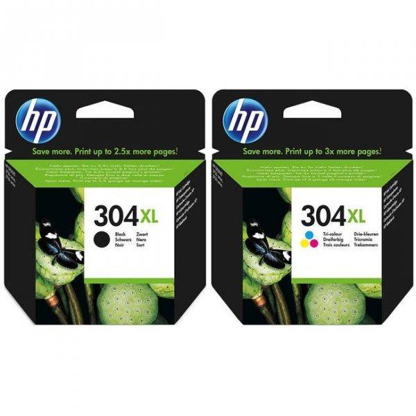 N9K08AE tusz czarny HP304XL do HP Deskjet 2620 2630 3720 3730