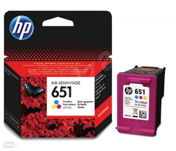 TUSZ HP 651 COLOR [6ml]