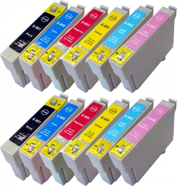 TUSZ ZAMIENNIK ORINK EPSON T0804 YELLOW [18ml] [XL]