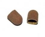 Kapturki ścierne do pedicure  5mm - 150 średnioziarniste - 10 szt.