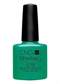 CND SHELLAC ART BASIL - 7,3 ml