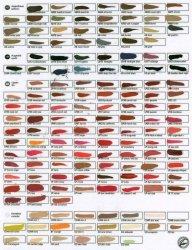 Paleta Kolorów Pigmentów - Wellcos