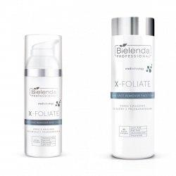 Bielenda X-Foliate Zestaw dla skóry z przebarwieniami
