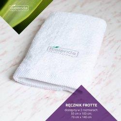 Bielenda Ręcznik frotte mały - 50x100 cm biały