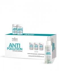 Farmona Anti Pollution - Zestaw dotleniająco-detoksykujący 10x3ml