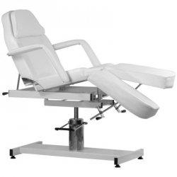 Fotel kosmetyczny hydrauliczny A-210C PEDI - biały