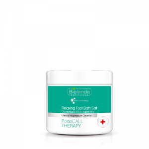 Bielenda PodoCALL THERAPY Odprężająca sól do kąpieli stóp z mocznikiem i chlorkiem magnezu  - 500 g
