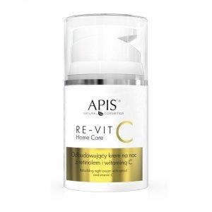 Apis RE-VIT C Odbudowujący krem na noc z retinolem i witaminą C, 50ml