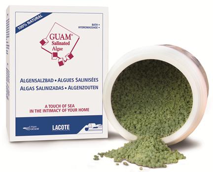 Guam Alghe Salinizzante - Zmikronizowane algi do kapieli ( sól do kapieli ) - 1kg