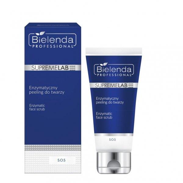 Bielenda Supremelab S.O.S Enzymatyczny peeling do twarzy 70g