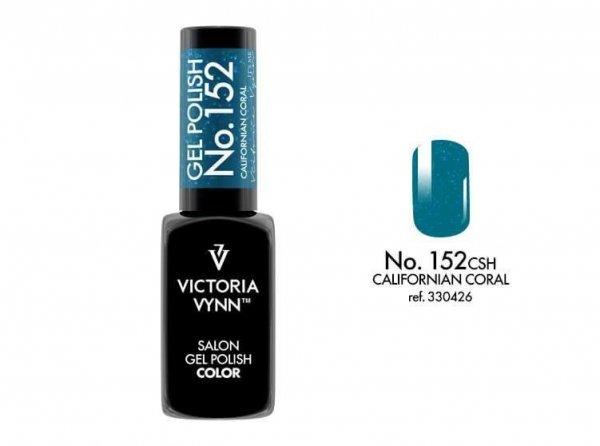 Victoria Vynn Gel Polish Color - Californian Coral No.152 8 ml