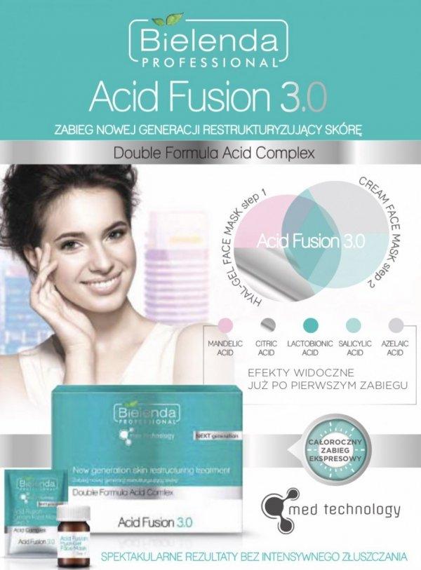 Bielenda ACID FUSION 3.0 Peelingujący żel do mycia twarzy 190 g