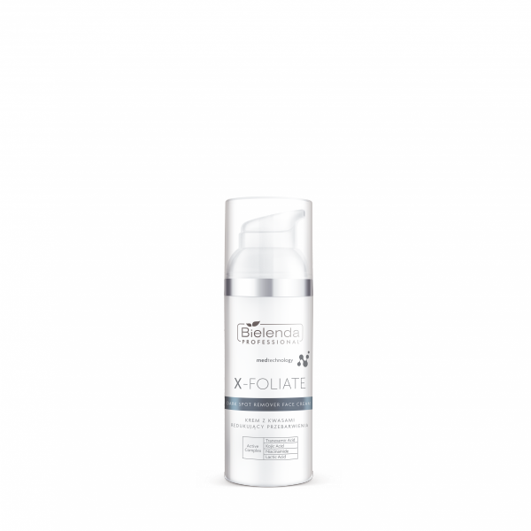Bielenda X-Foliate Dark Spot Remover krem z kwasami redukujący przebarwienia 50 ml