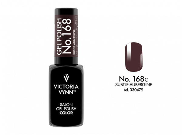 Victoria Vynn Gel Polish Color - Subtle Aubergine No.168 8 ml
