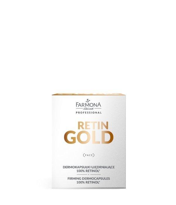 Farmona RETIN GOLD Dermokapsułki ujędrniające 100% retinol* 15szt.