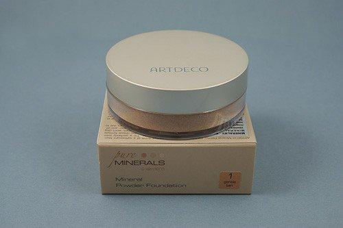 Artdeco - Podkład mineralny - Mineral losose powder nr: 1