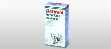 Gehwol - Fusskraft - Sól ziołowa do kapieli stóp - 400 g