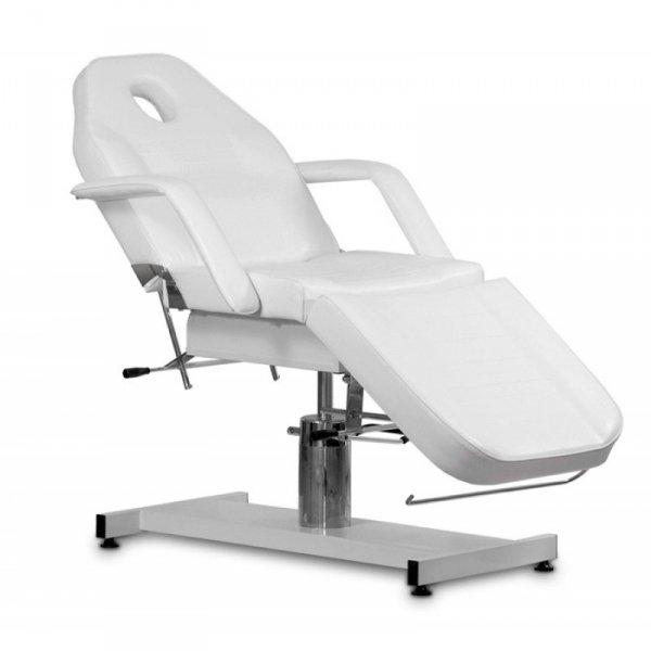 Fotel kosmetyczny hydrauliczny A-210 Biały