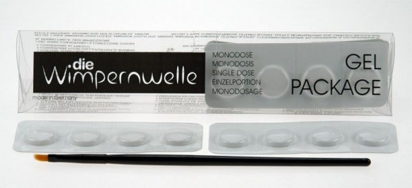 Wimpernwelle - Trwała na rzęsy - Żel 1 + Żel 2 + Pędzelek