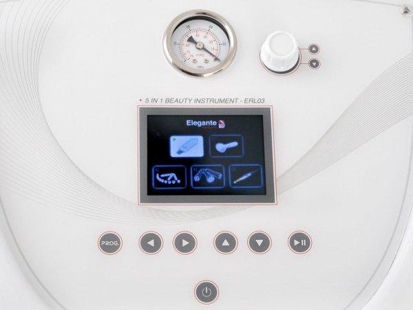Urządzenie 5w1 Redline - Mikrodrmabrazja Mezoterapia Ultrasonic Głowica ciepło-zimno