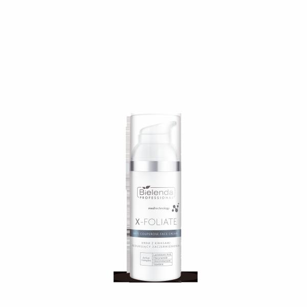 Bielenda X-Foliate Krem do skóry naczynkowej 50ml abant