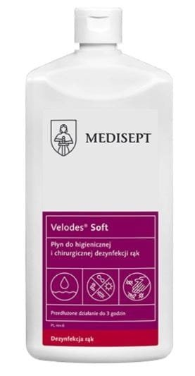 Velodes Soft -  1L Płyn - dezynfekcja rąk