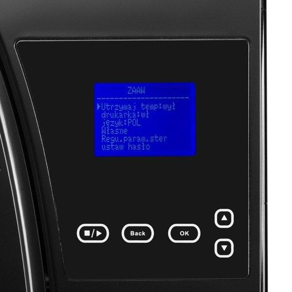 Autoklaw Lafomed PREMIUM LINE LFSS12AA z drukarką 12-L KL.B medyczna - czarny