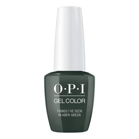 OPI GelColor Things I've Seen in Aber-green  GCU15  15ml