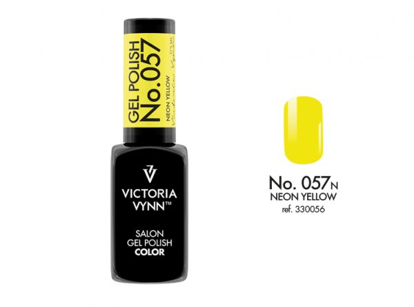 Victoria Vynn Gel Polish Color - Neon Yellow No.057 8 ml