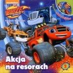 Blaze i Megamaszyny Filmowe opowieści 2 Akcja na resorach (książka + DVD)