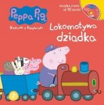 Świnka Peppa Bajeczki z Książeczki 7 Lokomotywa dziadka - książka z płytą DVD