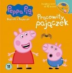 Świnka Peppa Bajeczki z Książeczki 11 Pracowity pajączek - książka z płytą DVD