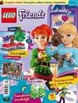 LEGO Friends magazyn 11/2018 + Uroczy psiak z sankami i choinką