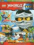 LEGO Ninjago magazyn 7/2016 + Jay z 2 mieczami i biczem łańcuchowym