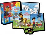 Psi Patrol Układaj i koloruj! Pieski ratują Aleksa książka i puzzle XXL