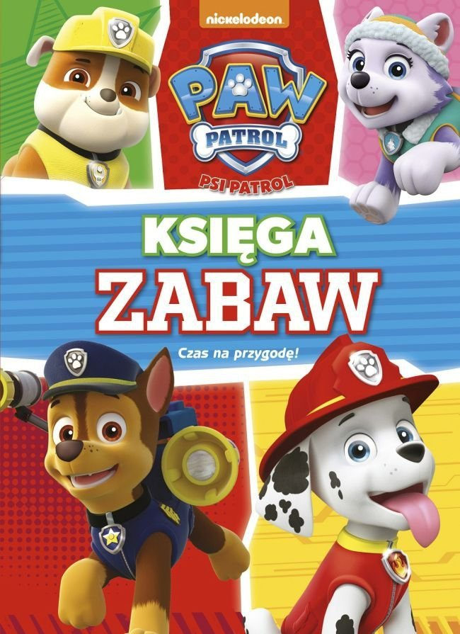 Psi Patrol Księga Zabaw