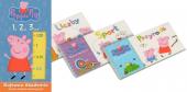 Świnka Peppa Bajkowa Akademia 1, 2, 3… Zestaw książek edukacyjnych
