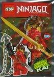 Lego Ninjago magazyn 1/2016 + Kai z harpunowym działkiem