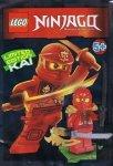 Lego Ninjago magazyn 1/2015 - CZERWONY NINJA