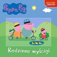 Świnka Peppa Rodzinne wyścigi (z okładką 3D)